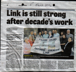 The Falkirk Herald 6th March 2014